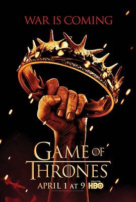 权力的游戏第二季海报