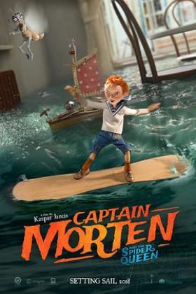 莫滕船长与蜘蛛女王海报
