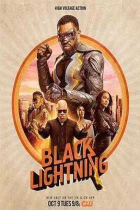黑色闪电第二季海报