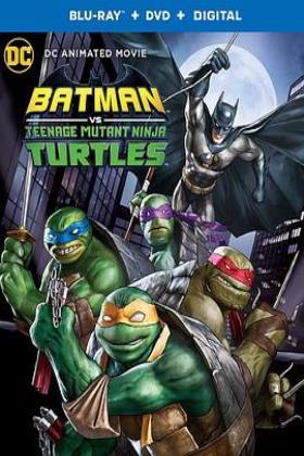 蝙蝠侠大战忍者神龟海报