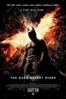 蝙蝠侠:黑暗骑士崛起海报