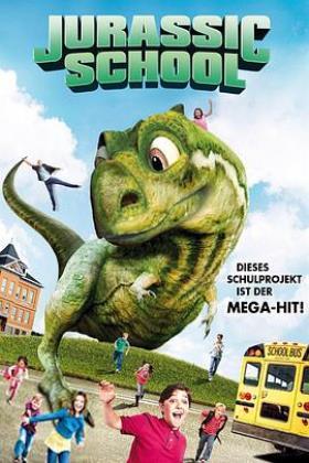 侏罗纪校园海报
