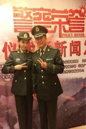 警察荣誉海报