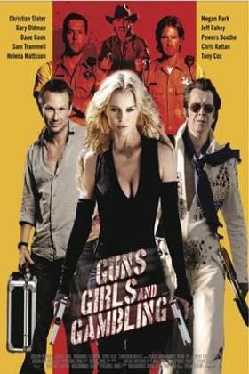 枪、女孩和赌博海报