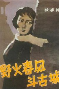 野火春风斗古城电影版海报