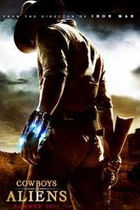 牛仔和外星人海报