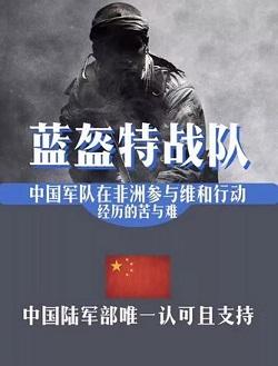 蓝盔特战队海报