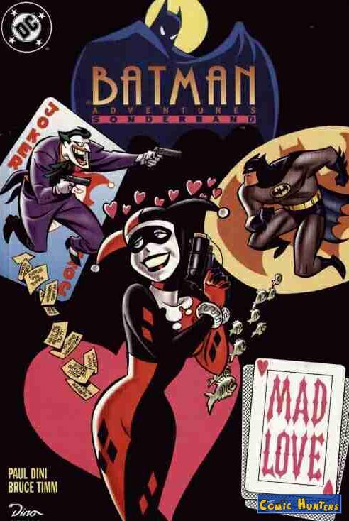 蝙蝠侠新冒险:疯狂的爱