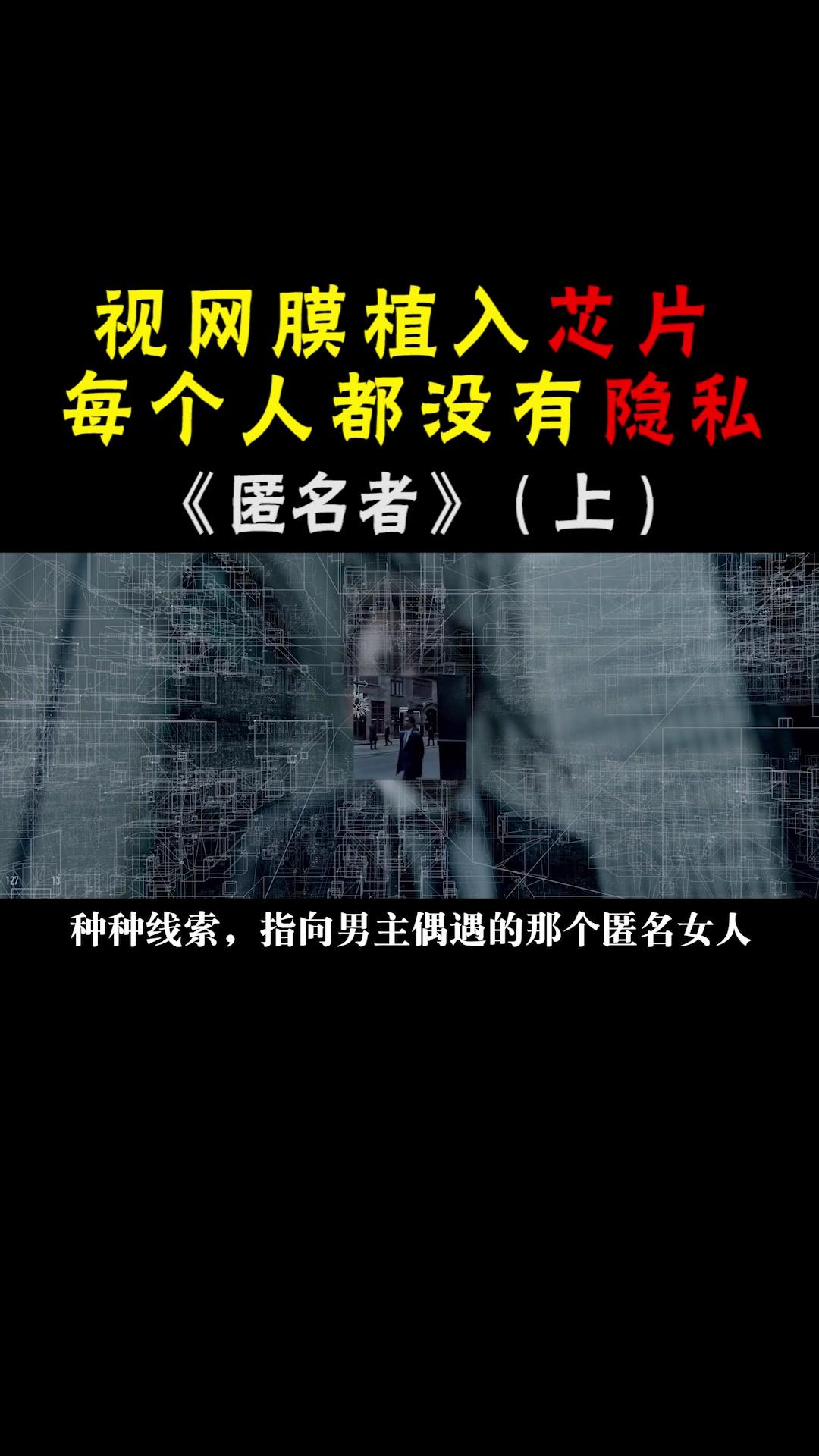 说电影《匿名者》