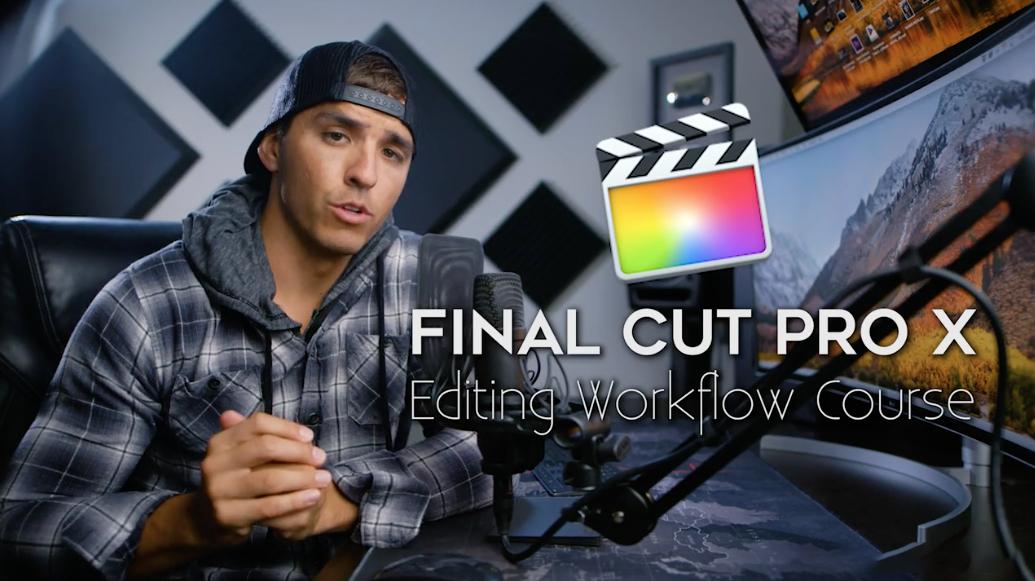 [FCPX 教程] Full Time Filmmaker-Parker Walbeck Final Cut Pro X编辑工作流程中文字幕