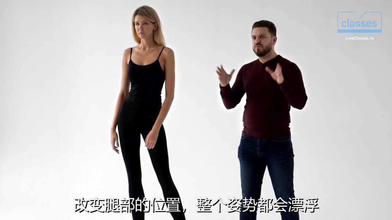摄影教程_Alexander Talyuka 如何教模特10分钟内摆姿造型引导教程-中文字幕 摄影教程 _预览图5