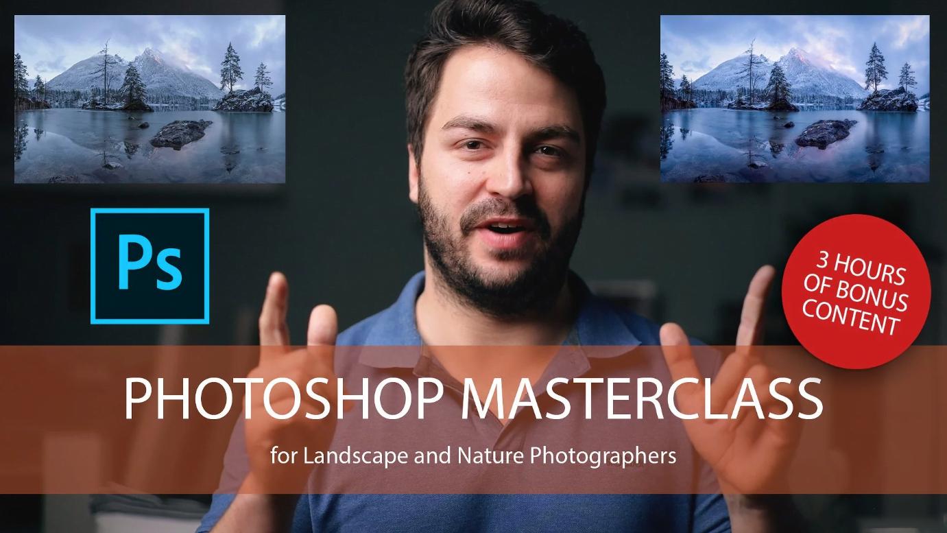 摄影教程_Daniel Fleischhacker景观和自然风光摄影Photoshop后期大师班-中英字幕 摄影教程 _预览图1