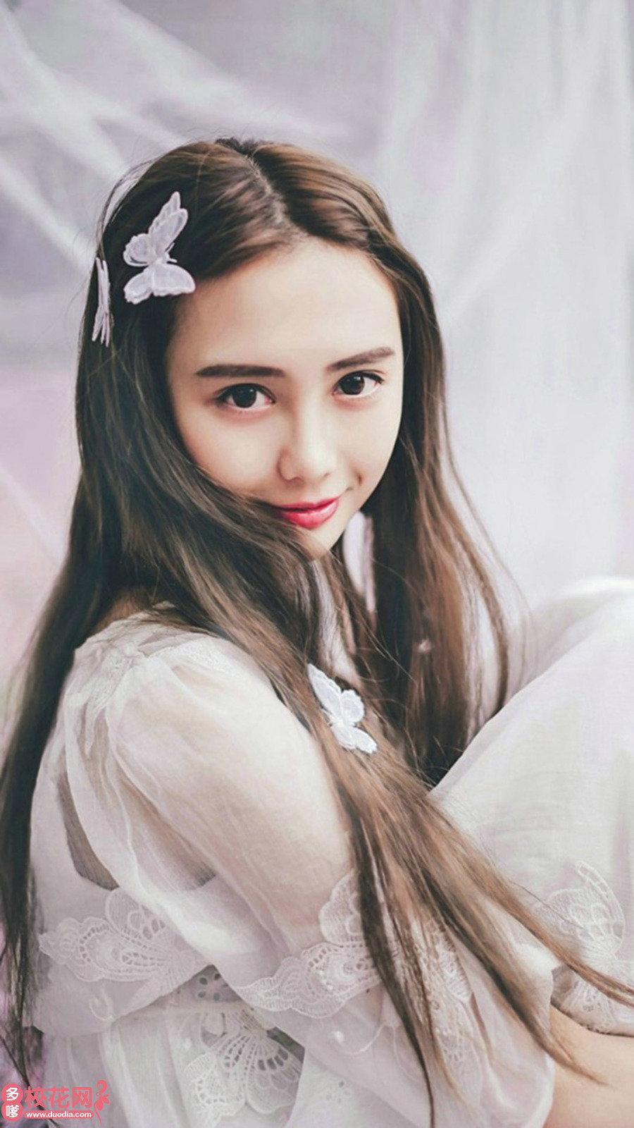 南京市第二十八中学美女校花宁毛毛摄影图片