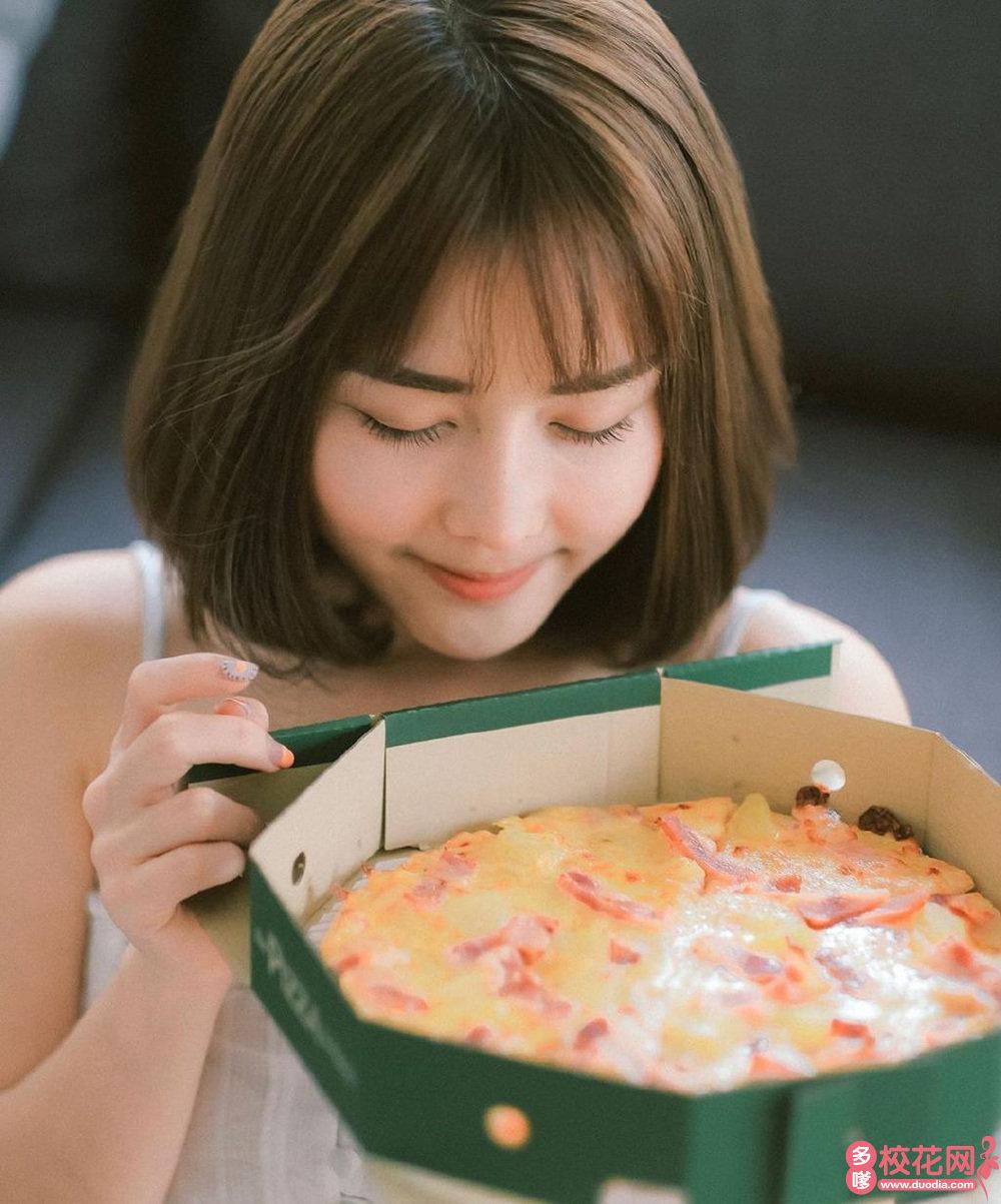 准格尔旗第一中学美女校花陈孝琴写真照片