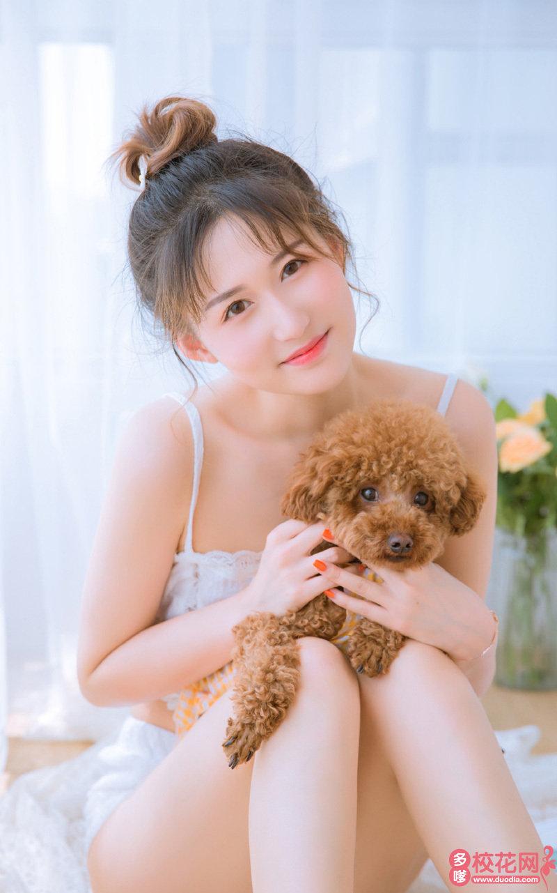 武川县可镇安字号中学美女校花傅裕宣私房摄影