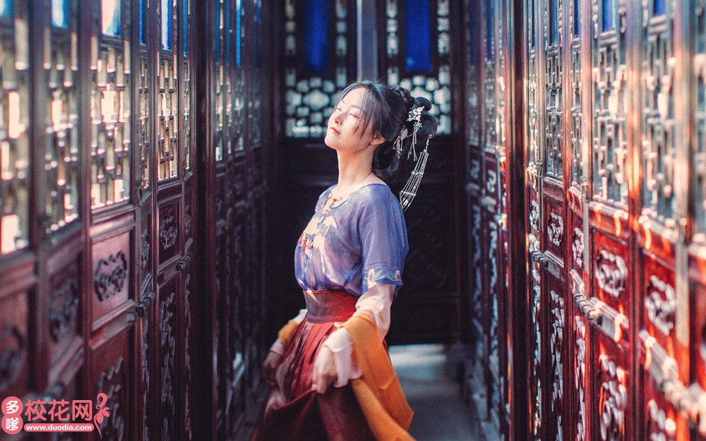 中国有色金属工业第七冶金建设公司子弟中学美女校花周艺真写真套图