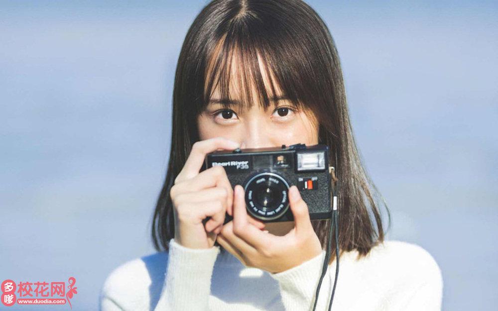 贵阳清溪学校美女校花胡园园高清摄影图