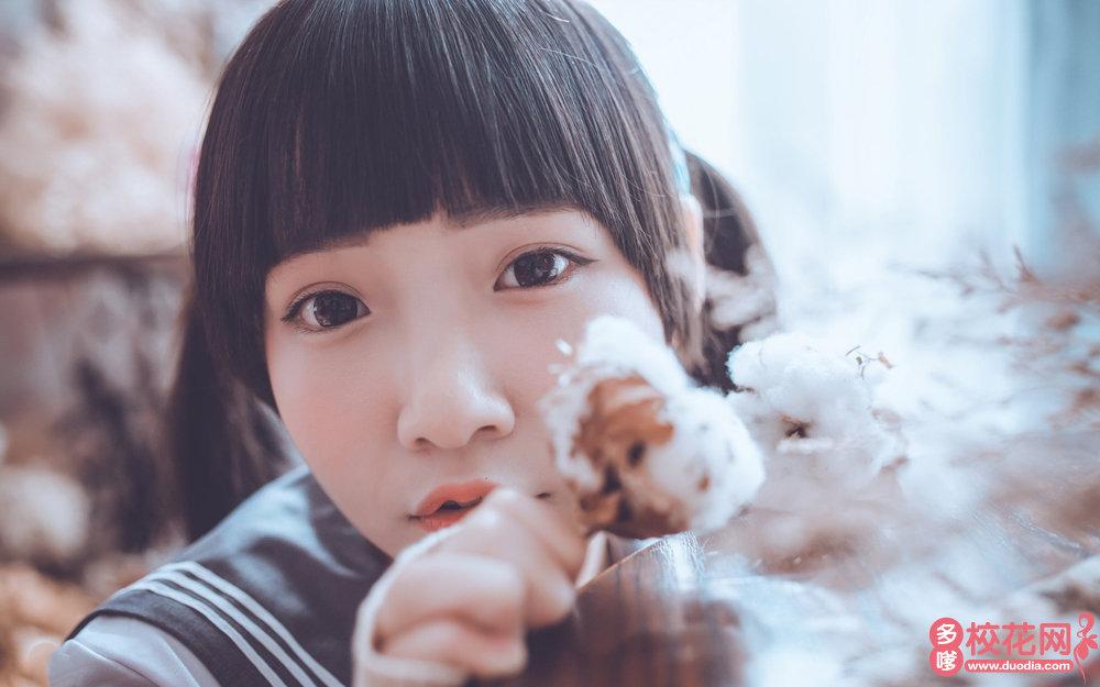 广州市第十中学美女校花宋翻翻写真照片