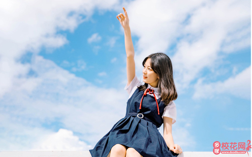 广州市培正中学美女校花李翠桦私房摄影
