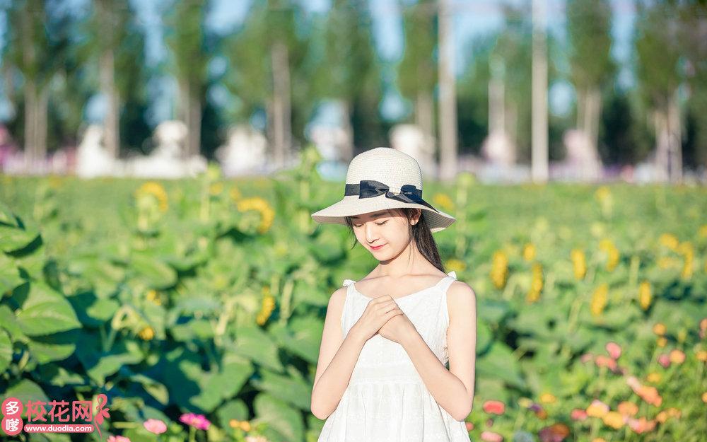 宁乡煤炭坝联校美女校花于宁洁写真照片