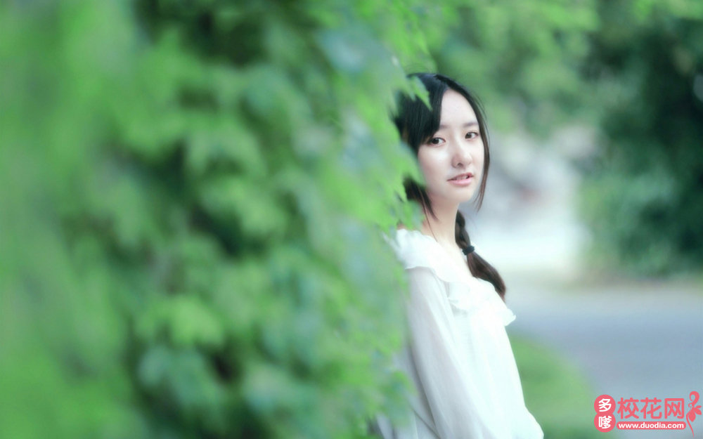 宁乡县南田坪乡联校美女校花冯碧连艺术摄影