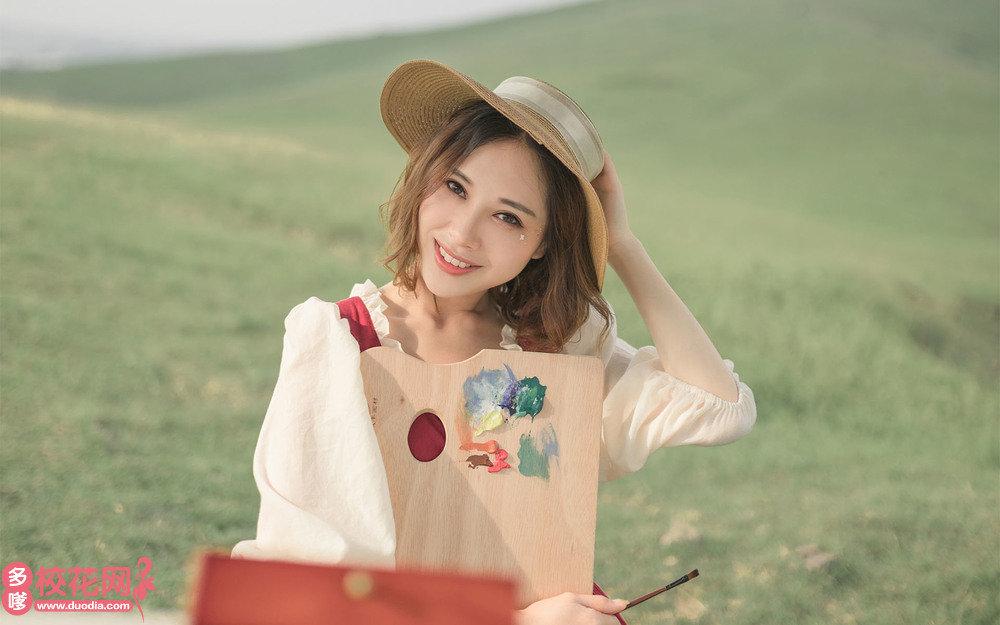 长沙市第十三中学美女校花黄凤高写真图片