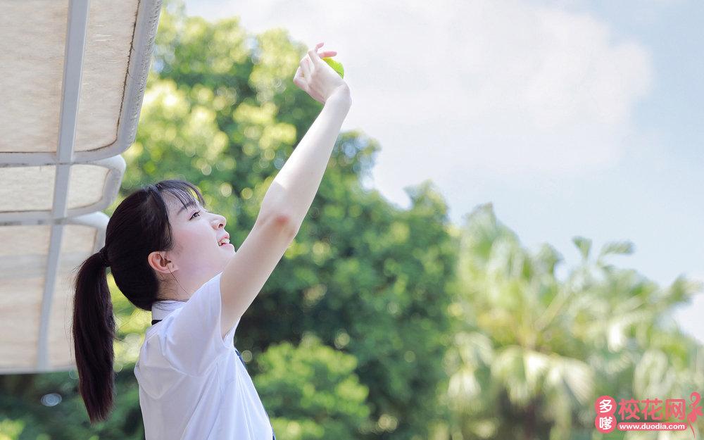 长沙市天心区大托镇披塘中学美女校花姜水瑾写真套图
