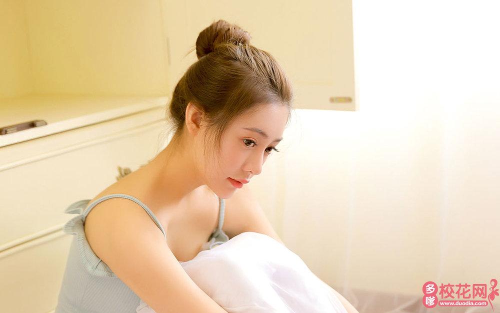 武汉市先锋中学美女校花罗宇花摄影写真