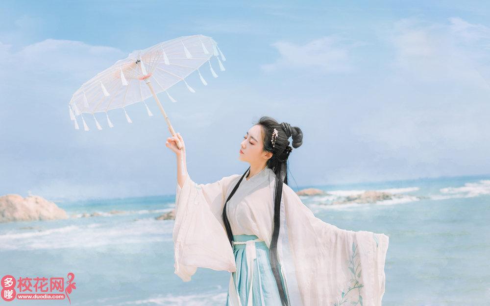 光山县第二高级中学美女校花徐清珠私拍写真