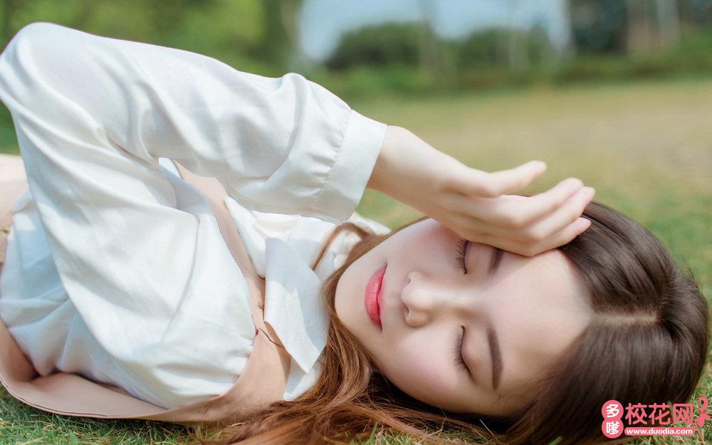 贵州健康职业学院美女校花于云怀摄影图片