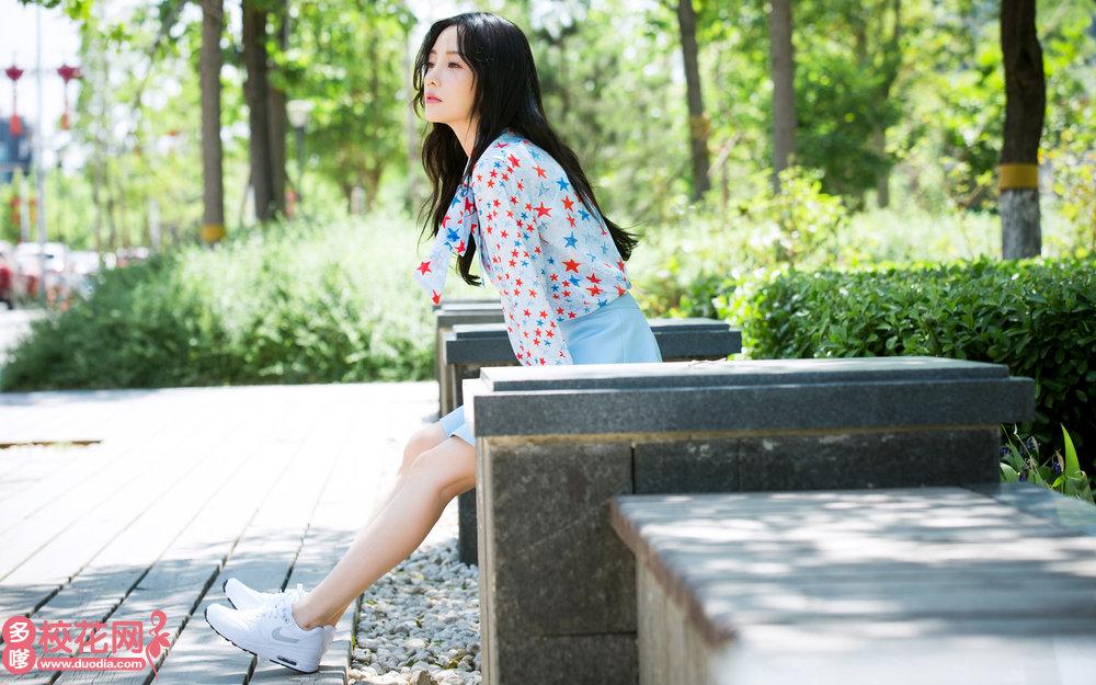 云南特殊教育职业学院美女校花施芳桃私拍写真