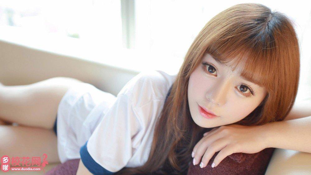 湖南第一师范学院美女校花周月桦私房写真
