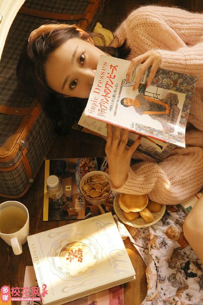 贺州学院美女校花辛苏梅私房图片
