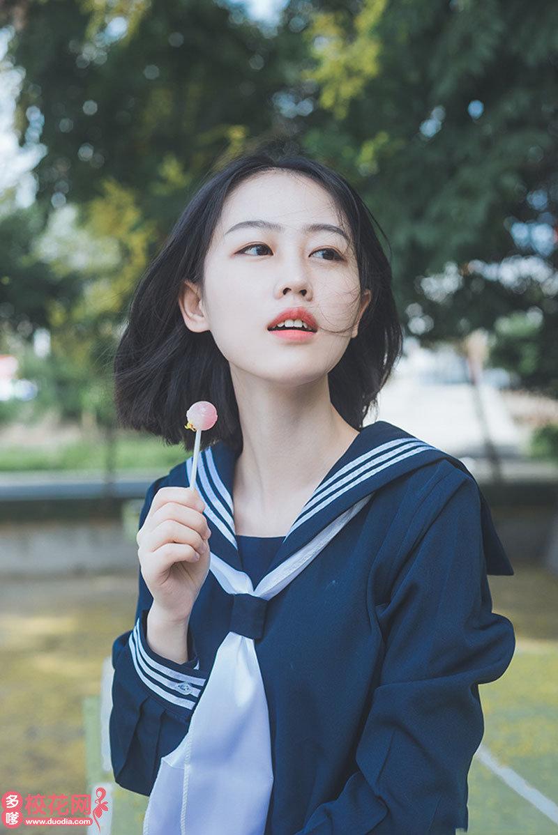 南昌工程学院美女校花唐沛萌私房图片