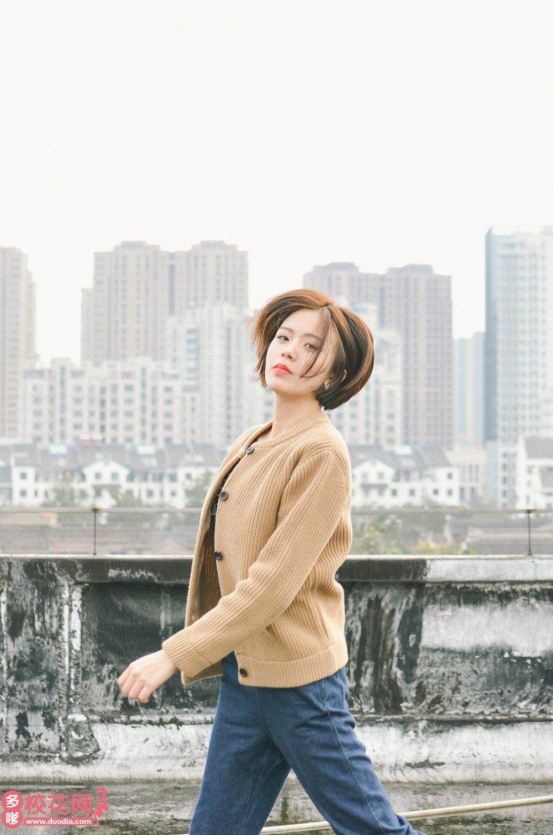渭南师范学院美女校花尤莹川艺术写真