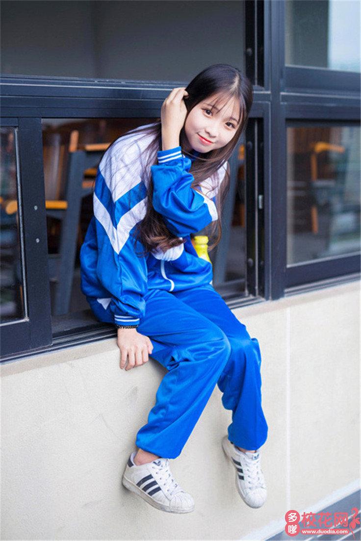 上海杉达学院美女校花孔广亭私房摄影
