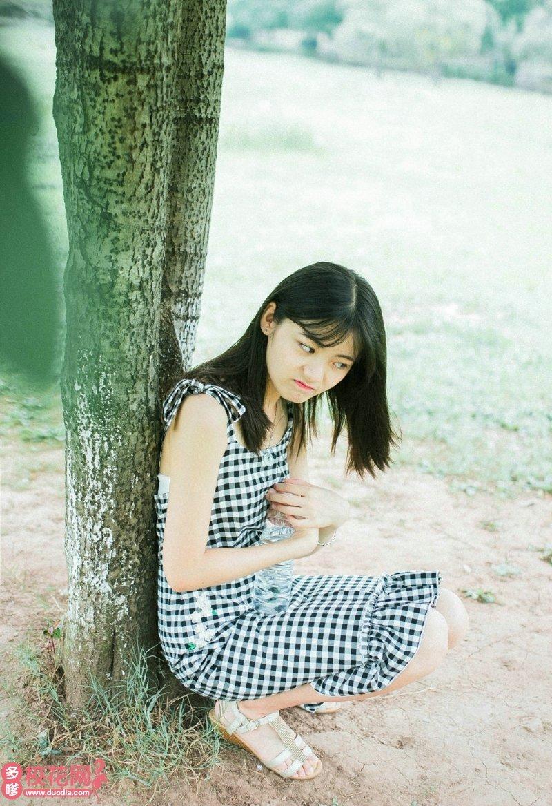 惠安县美仁中学美女校花许京津艺术写真