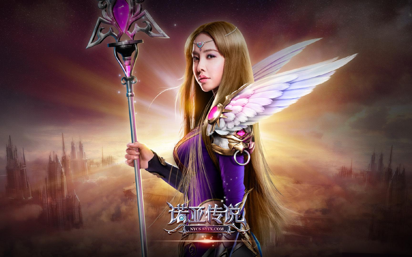 《诺亚传说》蔡依林代言1080P高清壁纸图片