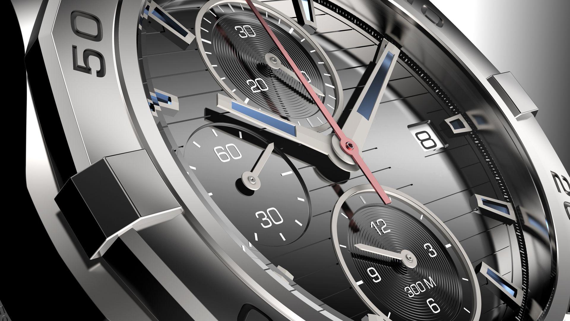 男士手表腕表4K高清图片素材