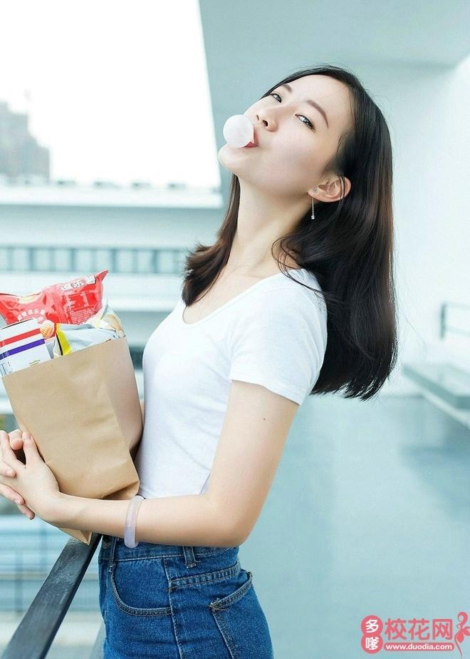 南京师范大学中北学院校花陈胭琪