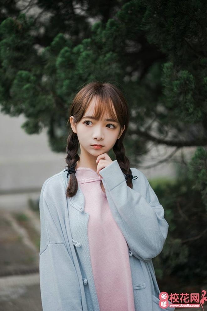 淮北师范大学信息学院校花张馨丹