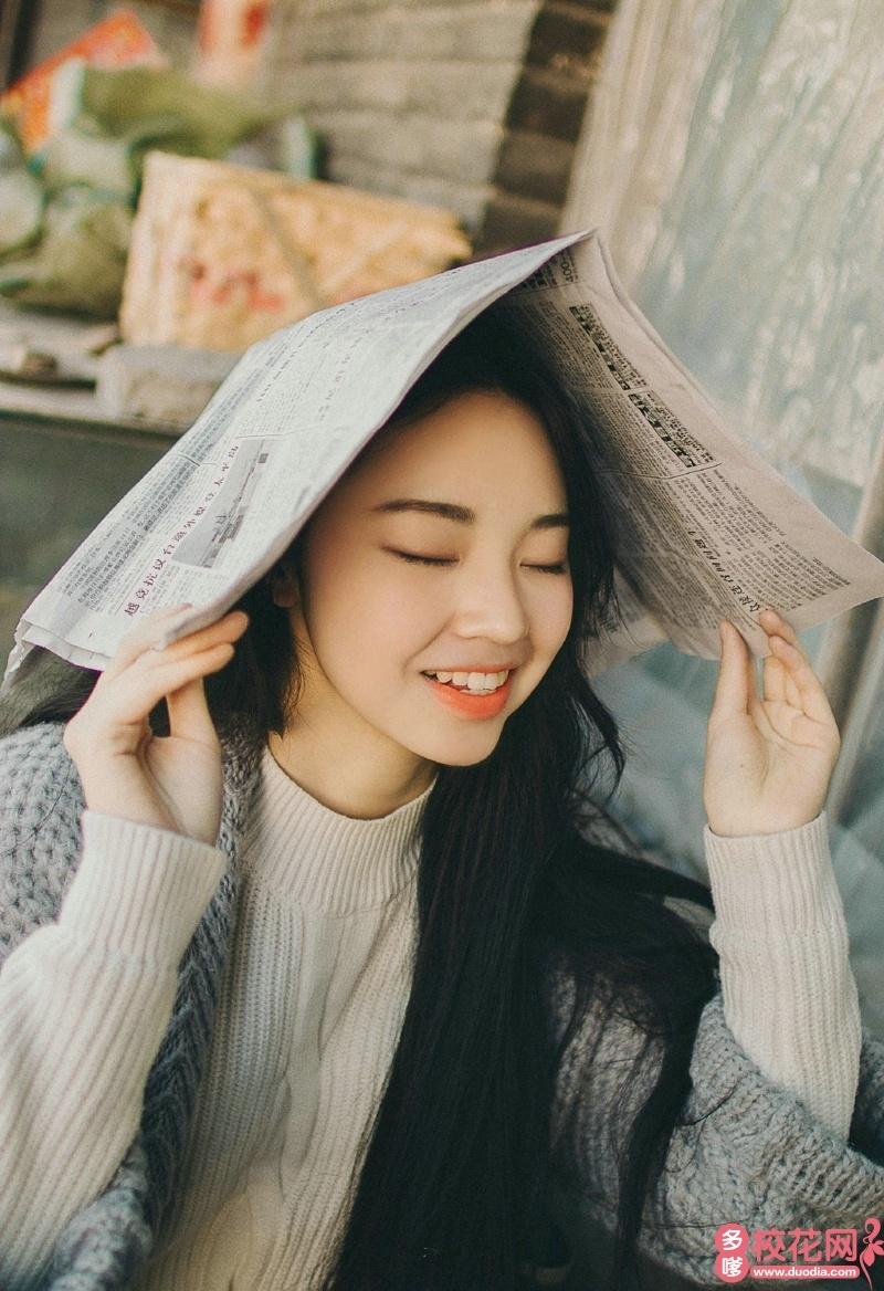 河北大学2018级校花文敏
