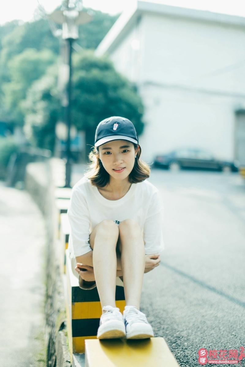 燕山大学里仁学院2019级校花郭燕林
