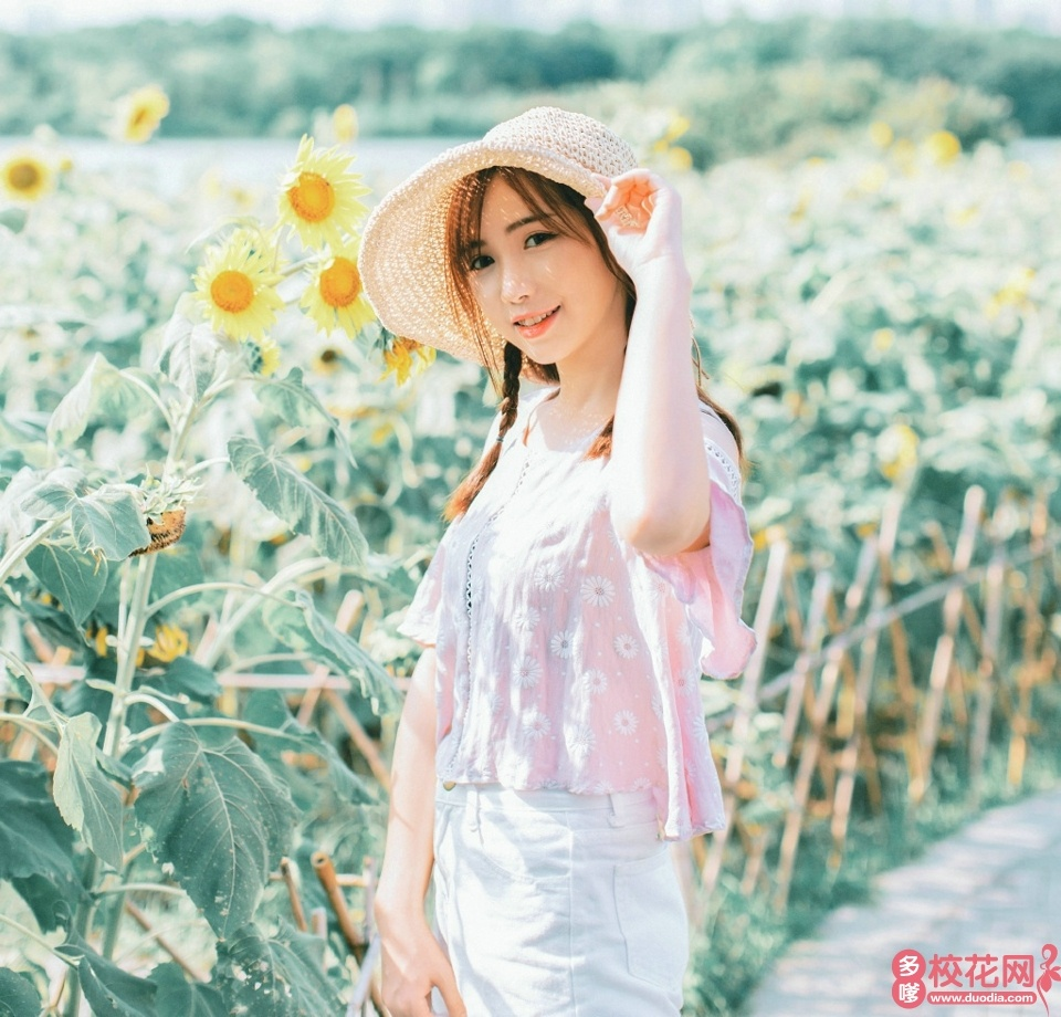 西北工业大学明德学院2018级校花姚丽媚