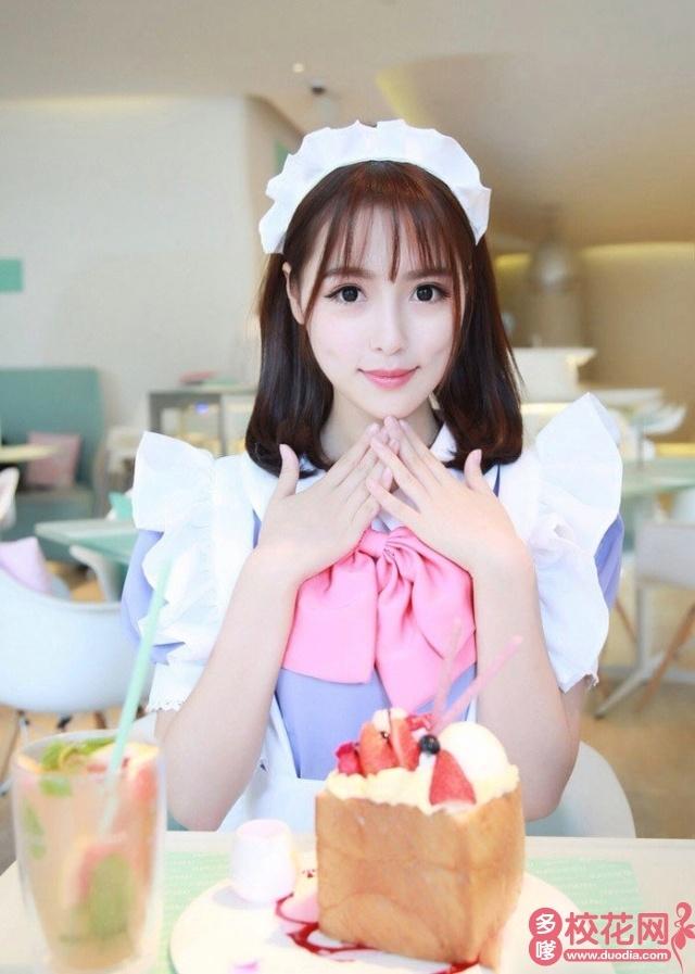 山西师范大学2018级校花何焕欣