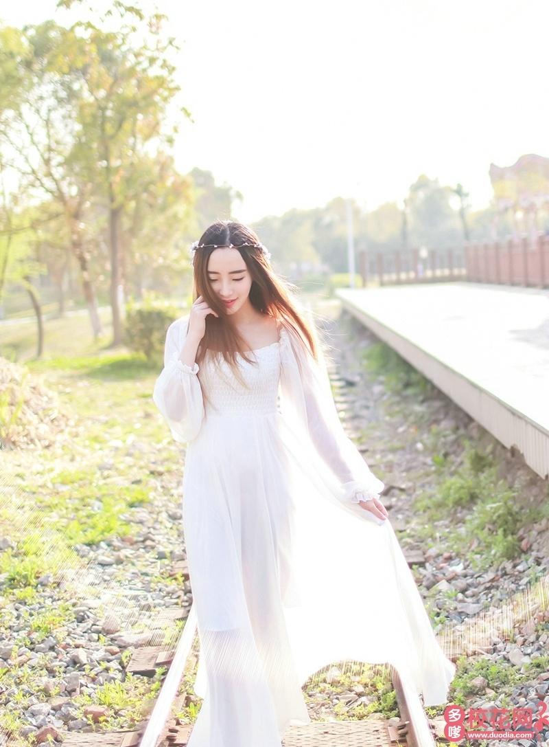 河北传媒学院2019级校花罗薇