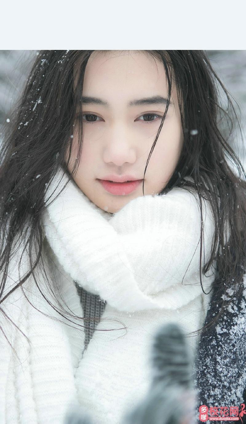 西安工业大学北方信息工程学院2019级校花陈慧娴
