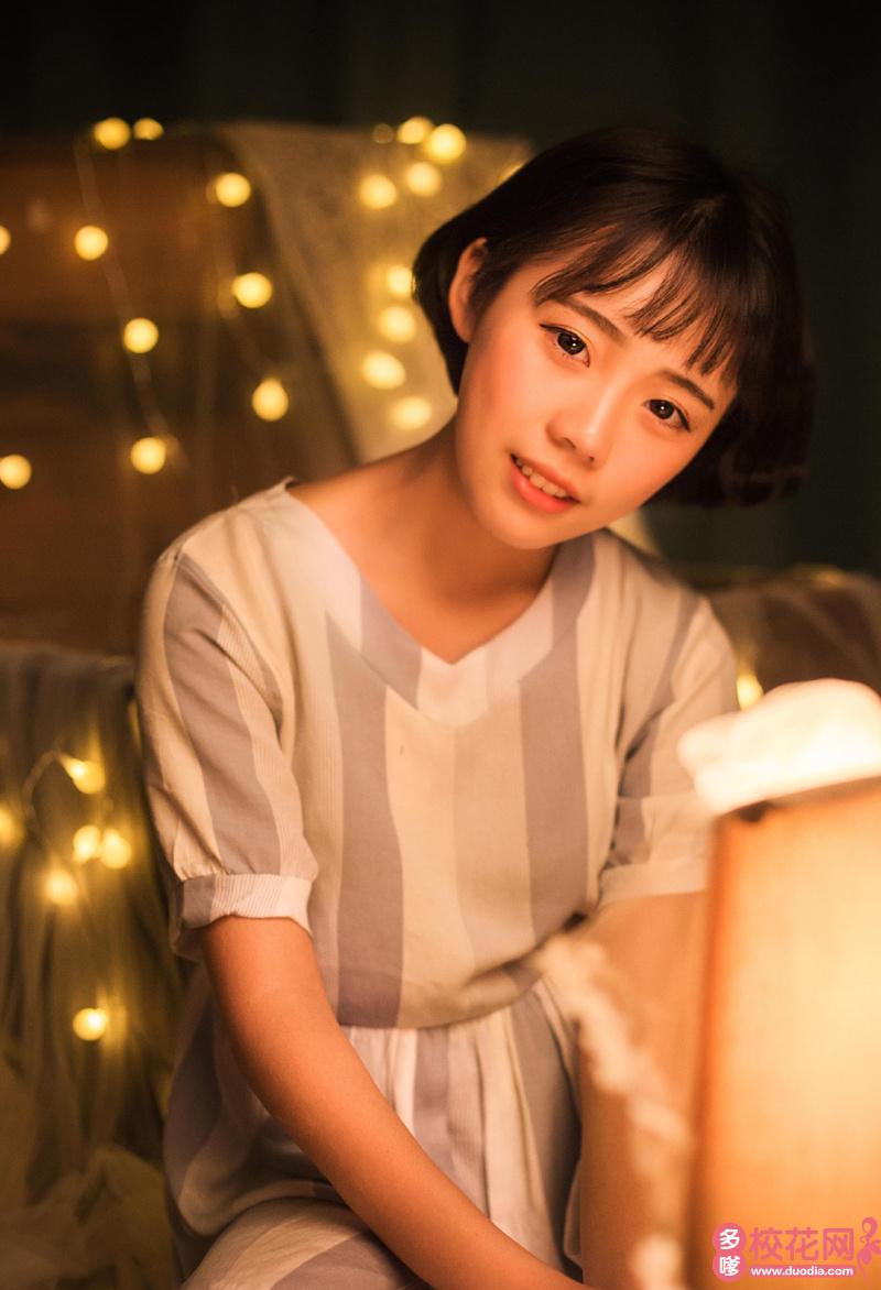 武汉东湖学院2019级校花修丽丽