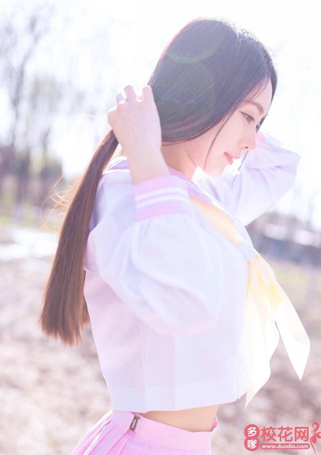 上海市洋泾中学2019级校花廖礼英