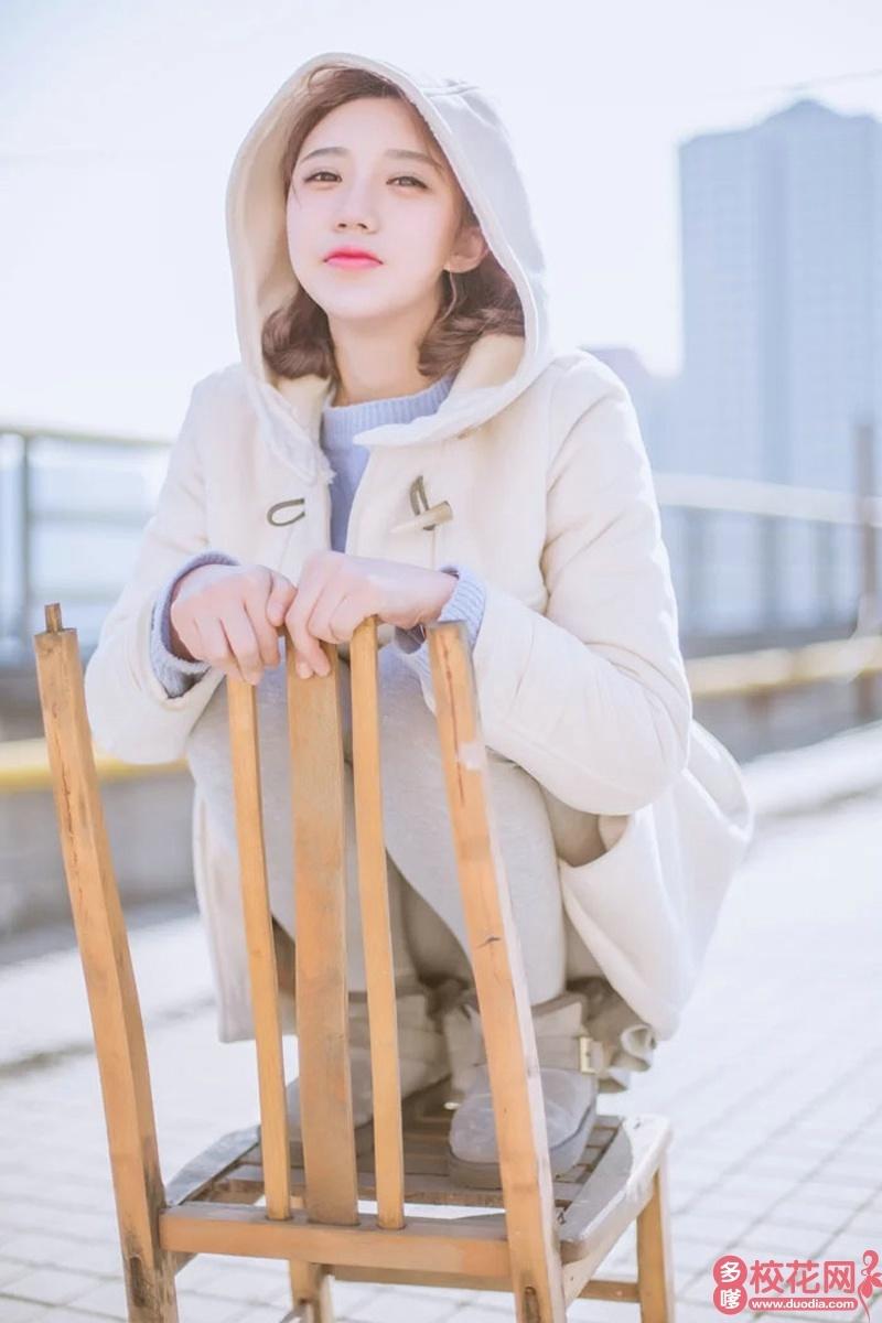 石家庄市第六中学2018级校花蔡欣